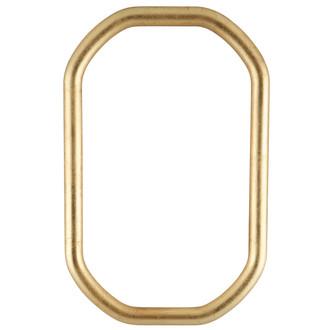 Pasadena Octagon Frame - #250 - Gold Leaf