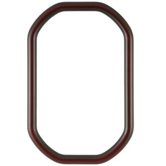 Pasadena Octagon Frame - #250 - Rosewood