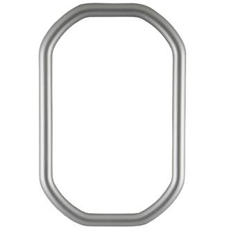Pasadena Octagon Frame - #250 - Silver Spray