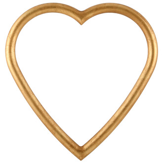 Pasadena Heart Frame - #250 - Gold Leaf