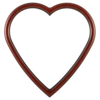 Pasadena Heart Frame - #250 - Vintage Cherry