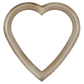 Kensington Heart Frame #401 - Taupe