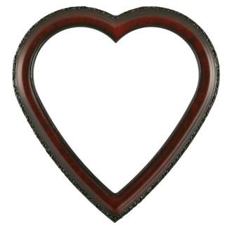 Kensington Heart Frame #401 - Vintage Cherry