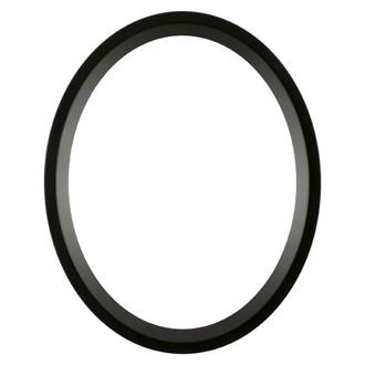 Huntington Oval Frame # 421 - Matte Black