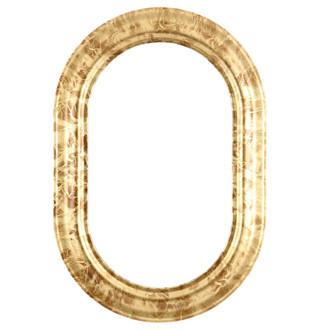 Lancaster Oblong Frame #450 - Champagne Gold