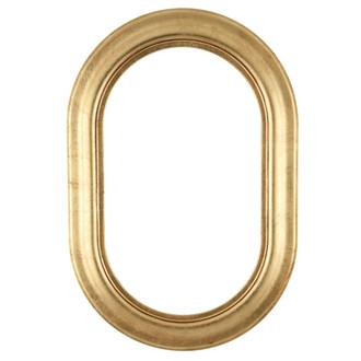 Lancaster Oblong Frame #450 - Gold Leaf