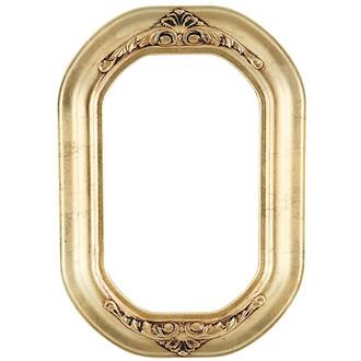 Winchester Octagon Frame #451 - Gold Leaf