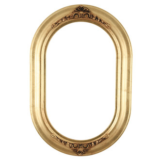 Winchester Oblong Frame #451 - Gold Leaf