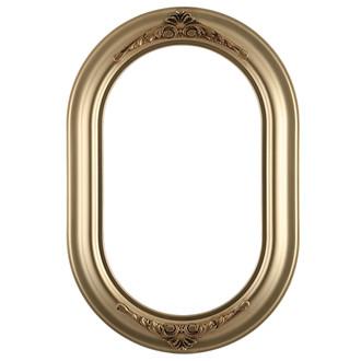 Winchester Oblong Frame #451 - Gold Spray