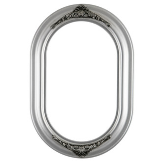 Winchester Oblong Frame #451 - Silver Spray