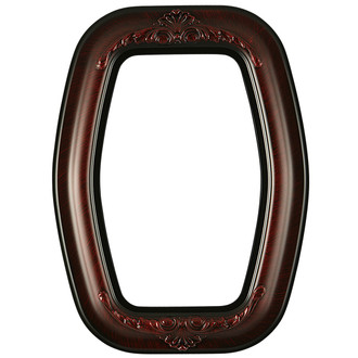 Winchester Hexagon Frame #451 - Vintage Cherry