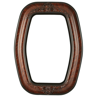 Winchester Hexagon Frame #451 - Vintage Walnut