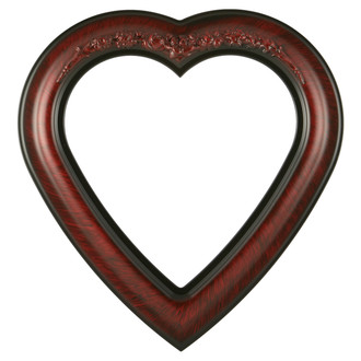 Winchester Heart Frame #451 - Vintage Cherry