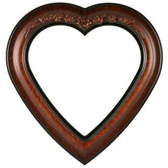 Winchester Heart Frame #451 - Vintage Walnut