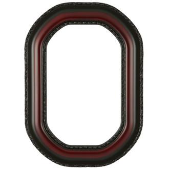 Somerset Octagon Frame #452 - Rosewood