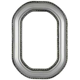Somerset Octagon Frame #452 - Silver Spray