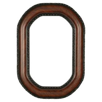 Somerset Octagon Frame #452 - Vintage Walnut