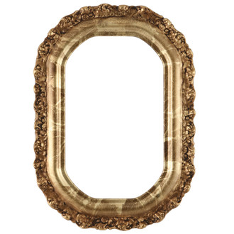 Venice Octagon Frame #454 - Champagne Gold