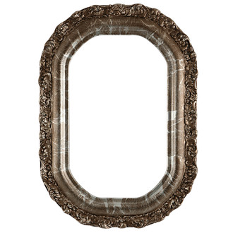 Venice Octagon Frame #454 - Champagne Silver