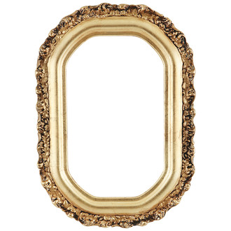Venice Octagon Frame #454 - Gold Leaf