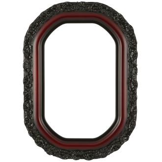 Venice Octagon Frame #454 - Rosewood