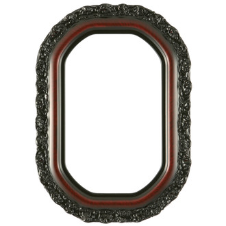 Venice Octagon Frame #454 - Vintage Cherry