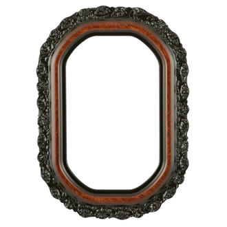Venice Octagon Frame #454 - Vintage Walnut