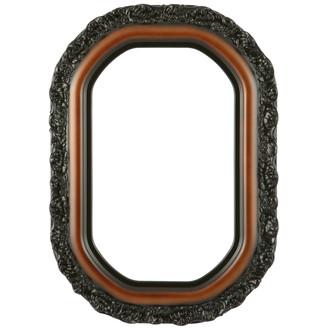Venice Octagon Frame #454 - Walnut