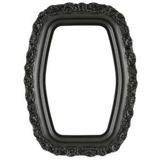 Venice Hexagon Frame #454 - Matte Black