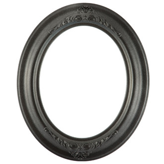 Winchester Oval Frame # 451 - Black Silver