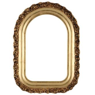 Venice Cathedral Frame #454 - Gold Leaf