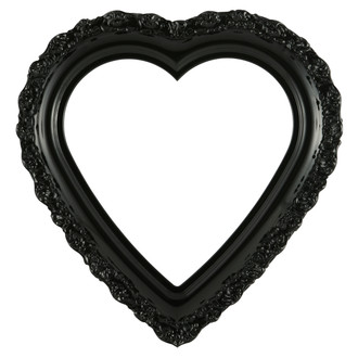 Venice Heart Frame #454 - Gloss Black
