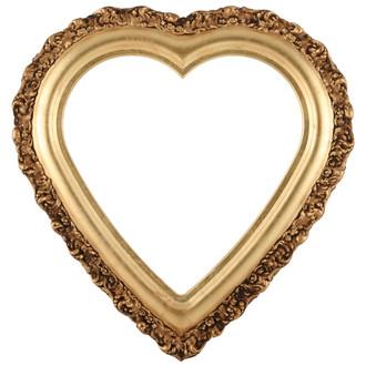 Venice Heart Frame #454 - Gold Leaf