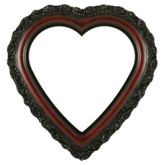 Venice Heart Frame #454 - Vintage Cherry