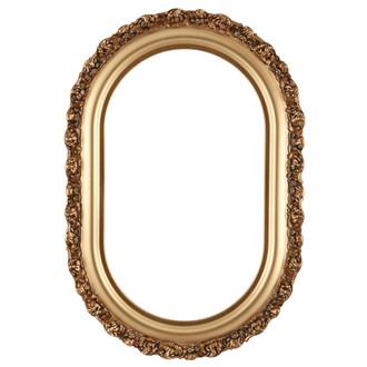 Venice Oblong Frame #454 - Desert Gold