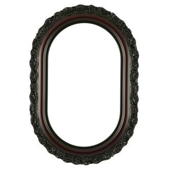Venice Oblong Frame #454 - Rosewood