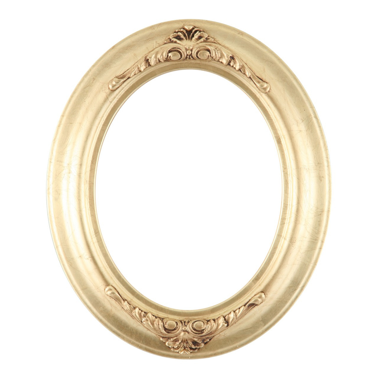 Oval Frame in Gold Leaf Finish| Antique Gold Picture Frames with ...