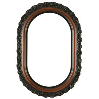 Venice Oblong Frame #454 - Walnut