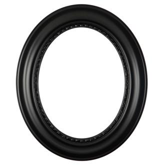 Chicago Oval Frame #456 - Gloss Black