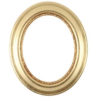 Chicago Oval Frame #456 - Gold Leaf