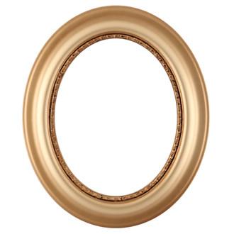 Chicago Oval Frame #456 - Gold Spray