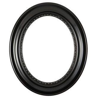 Chicago Oval Frame #456 - Matte Black