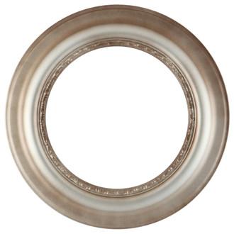 Chicago Round Frame #456 - Silver Shade