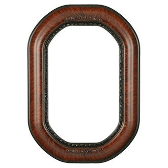 Boston Octagon Frame #457 - Vintage Walnut