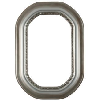 Chicago Octagon Frame #456 - Silver Shade