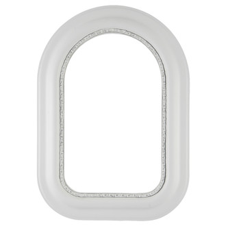 Chicago Cathedral Frame #456 - Linen White
