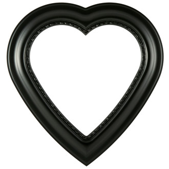 Chicago Heart Frame #456 - Matte Black