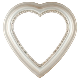 Chicago Heart Frame #456 - Silver Shade