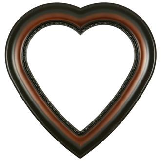 Chicago Heart Frame #456 - Walnut