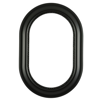 Chicago Oblong Frame #456 - Matte Black